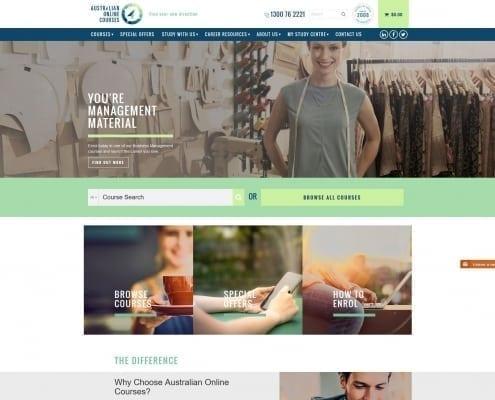 Australian Online Courses - case study