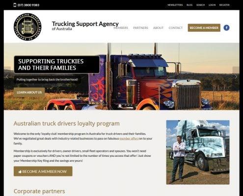 truckingsupportagencycomau desktop